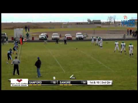 Football - Sanford at Sangre De Cristo