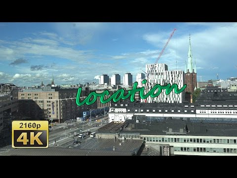 Radisson Blu Waterfront and Scandic Rooftop Bar, Stockholm - Sweden 4K Tarvel Channel