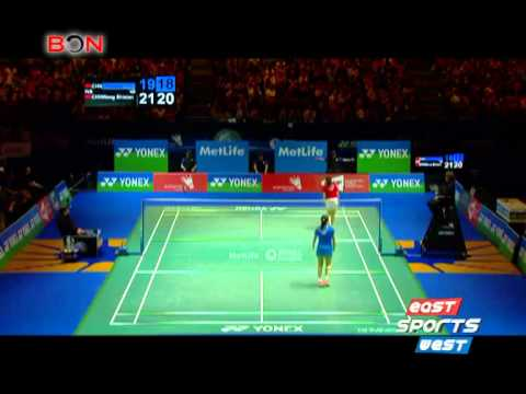 Badminton stars Chen, Wang dating? -- East West Sports 234
