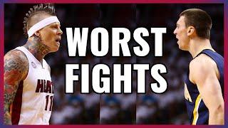 Worst NBA Basketball Fights in the season 2019-2020