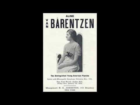 """Beethoven - """"Les Adieux"""" - Aline Van Barentzen"""