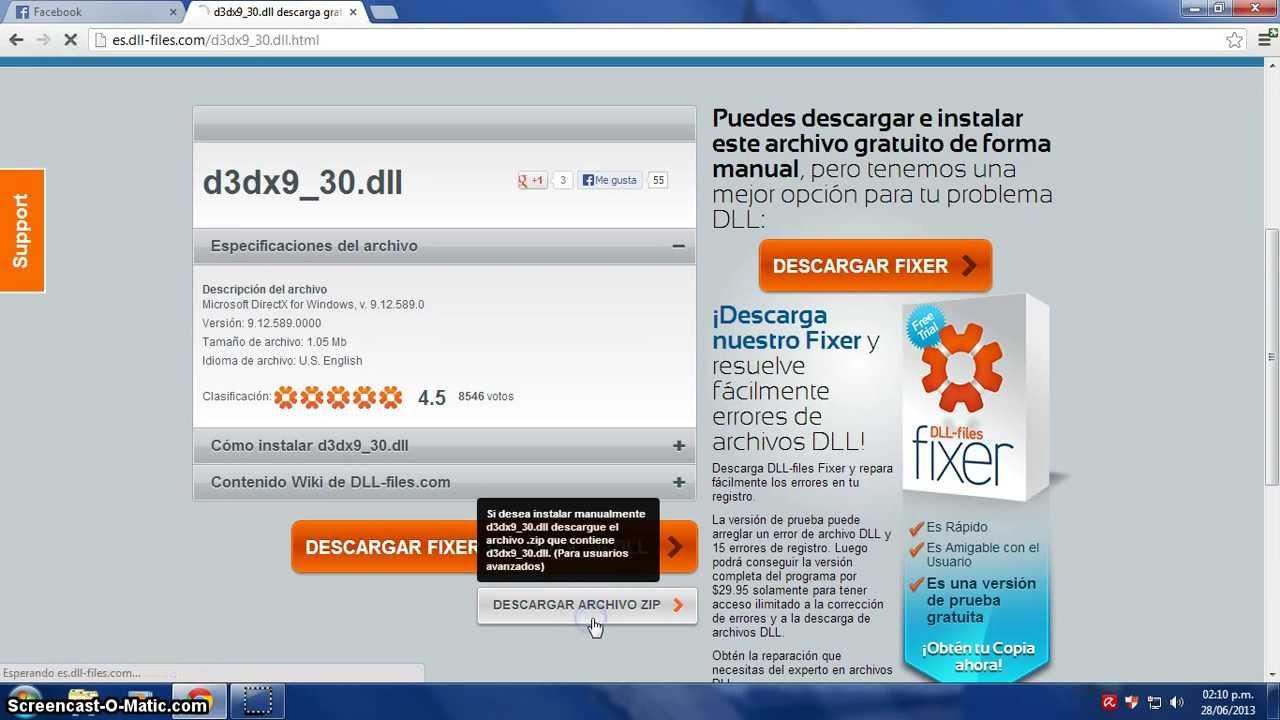 d3dx9 30.dll pour windows xp