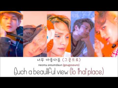 SHINee - View (Color Coded Lyrics: Hangul, Romaji, English)