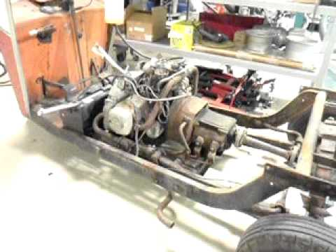 cushman truckster omc engine running youtube rh youtube com Cushman OMC Engine Points 109 OMC Cushman Scooter