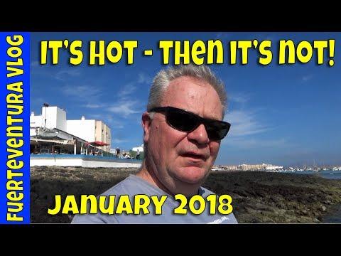 Fuerteventura Weather Extremes - Fuerteventura Vlog January 2018