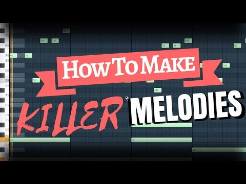 How To Make KILLER Melodies WITHOUT Music Theory