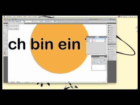 Illustrator - Zusammengesetzter Pfad und Text