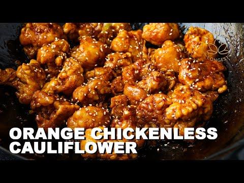 Orange Chickenless Cauliflower Recipe