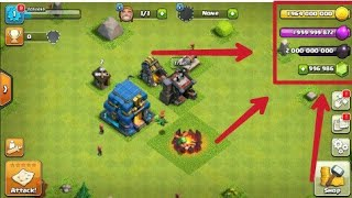 Look !! Now you can play real hacked version of clash of clans !!really