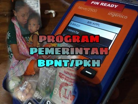 Tutorial cara mencairkan Bansos BPNT/PKH 2020 menggunakan edc BRILink di menu prog pemerin..