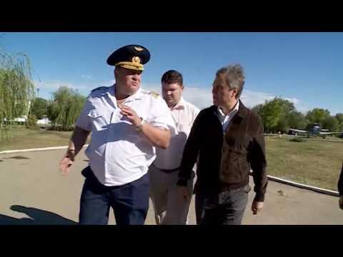 Вячеслав Володин посетил Краснокутское летное училище