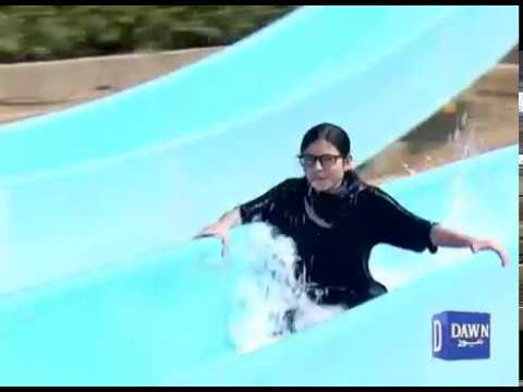 Karachi hot weather And Water Park