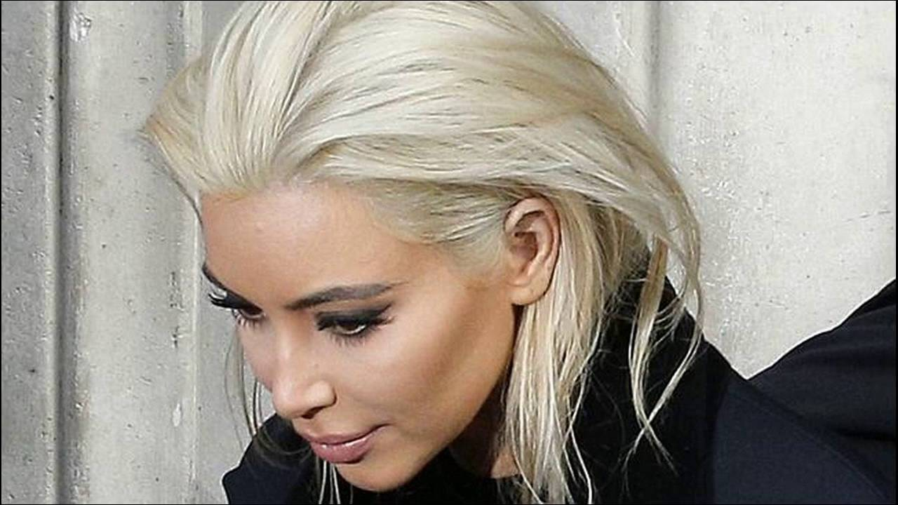 How To Dye Your Hair White Blonde - YouTube