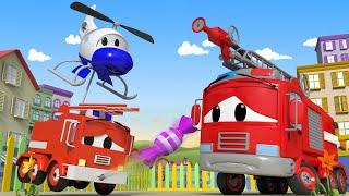 Авто Патруль -  Слишком много конфет - Автомобильный Город  🚓 🚒 детский мультфильм