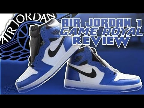 "AIR JORDAN 1 ""GAME ROYAL"" REVIEW! BETTER THAN FRAGS?"
