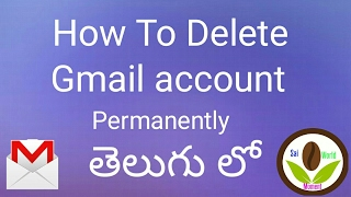 How To Delete Gmail Account Permanently in Telugu