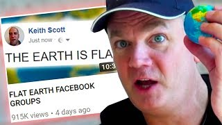 ANGRY FLAT EARTHERS RESPOND TO MY VIDEO