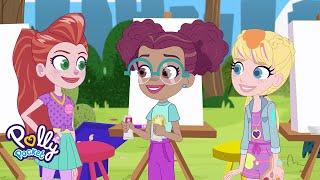 Lila's Sunday Funday: Pets & Paints the Park🐰🎨 | Polly Pocket Vlog Adventures | @Polly Pocket