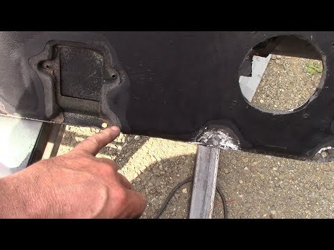 Recovering The Lower Dash On A Defender. Part 1 - Preparation