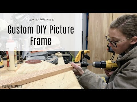 How to Make a Custom DIY Picture Frame