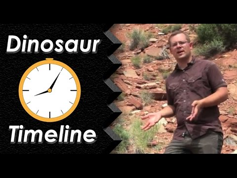 Dinosaur Timeline:  Triassic and Jurassic