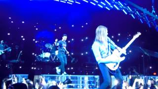 Harder to Breathe, Lucky Strike, Wake Up Call LIVE Maroon 5 3-8-15 IZOD