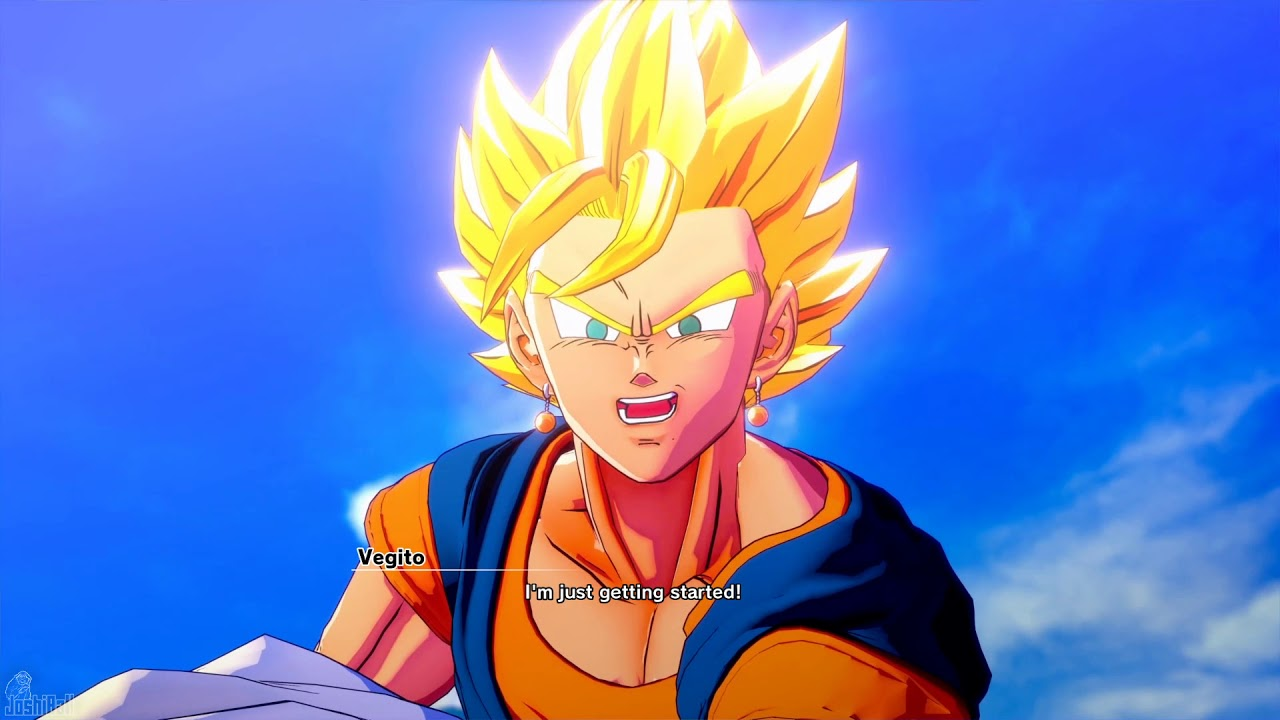 Goku and Vegitas Vegito vs Majin Buu Cutscene  ,  Dragon Ball Z Kakarot