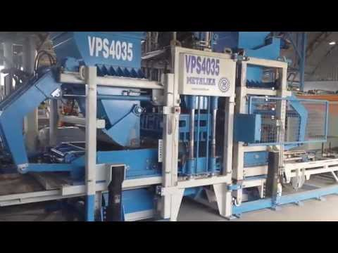 Concrete product making machine VPS 4000LX METALIKA Masina za betonsku galanteriju