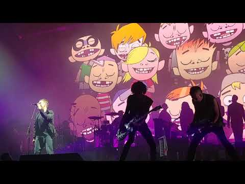 gorillaz performing dirty harry at outside lands 8 11 17