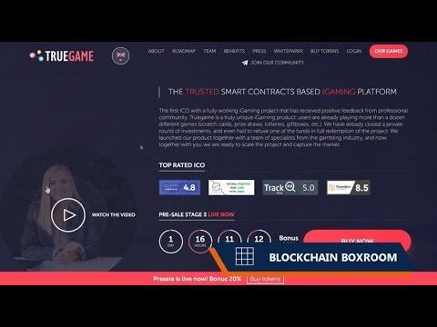 TRUEGAME - THE TRUSTED SMART CONTRACTS BASED IGAMING PLATFORM!