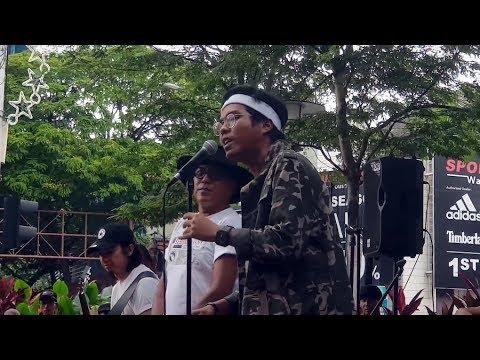 TIDAK PASTI JANGAN KONGSI&Gadis Jolobu-DATO Hattan & Anaknya feat Busking time