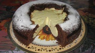 Творожный пирог.     Сирний пиріг.