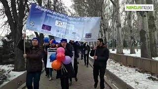 Молодежь вышла на улицы Бишкека!