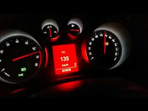 Opel insignia 1.6 Turbo 0-100 km/h  0-200 km/h acceleration