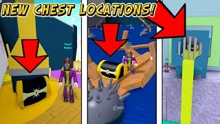 NEW UPDATE! 3 New Chest Locations In Build A Boat For Treasure In Roblox