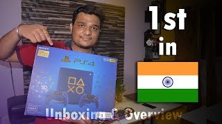 Sony PS4 Slim 500GB   Days of Play Blue Limited Edition   Unboxing & Overview