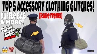 gta 5 online top 5 accessory clothing glitches duffle bag more rare items 1 34