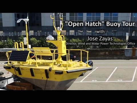 """Open Hatch"" Tour of Offshore Wind Buoy"