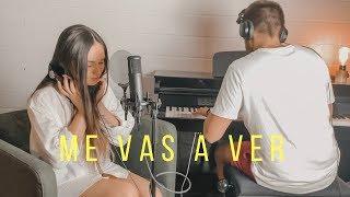 ME VAS A VER - BERET | Cover en directo + Letra - Carolina García
