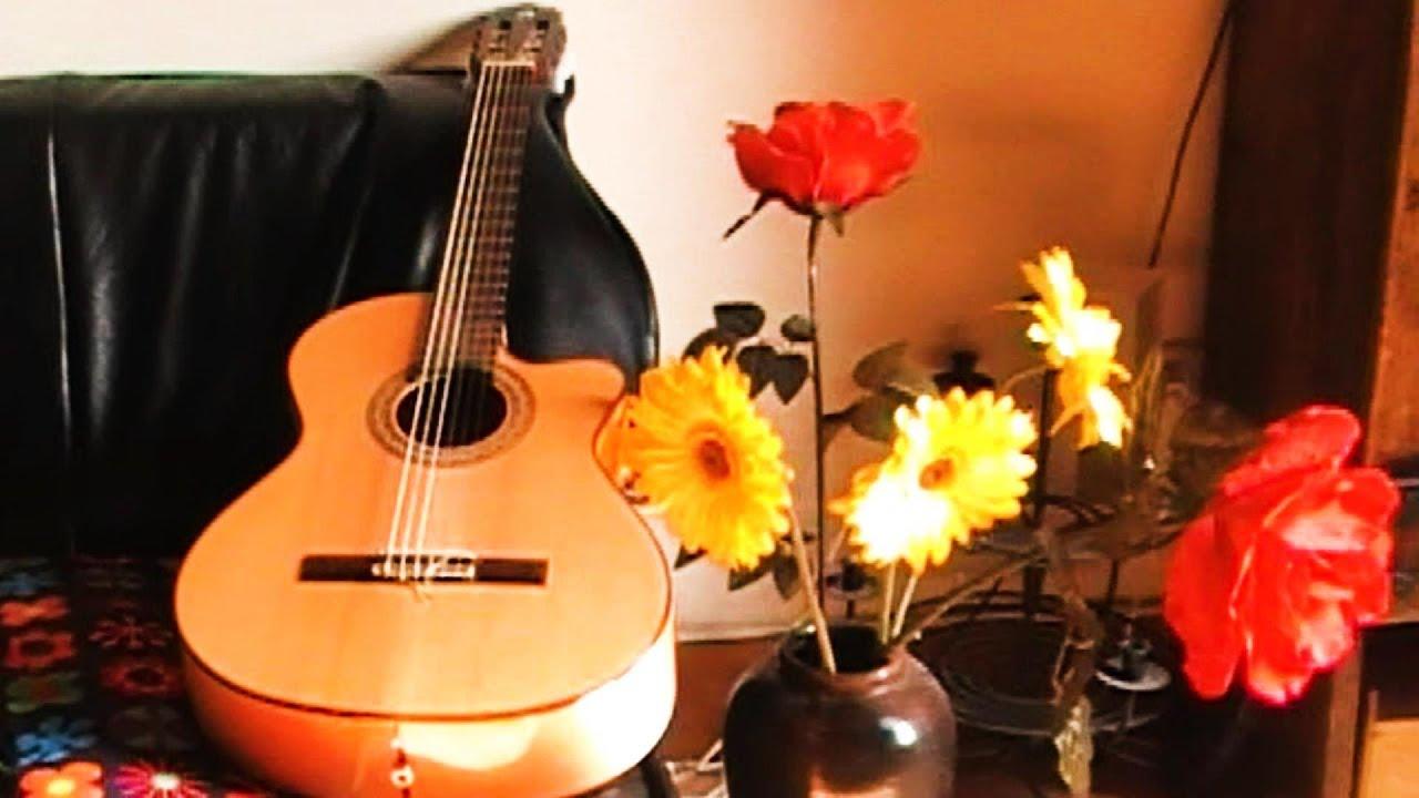 Gitaar muziek Rustige klassieke Spaanse achtergrondmuziek