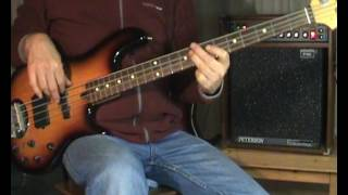 David Bowie This Is Not America Bass Cover