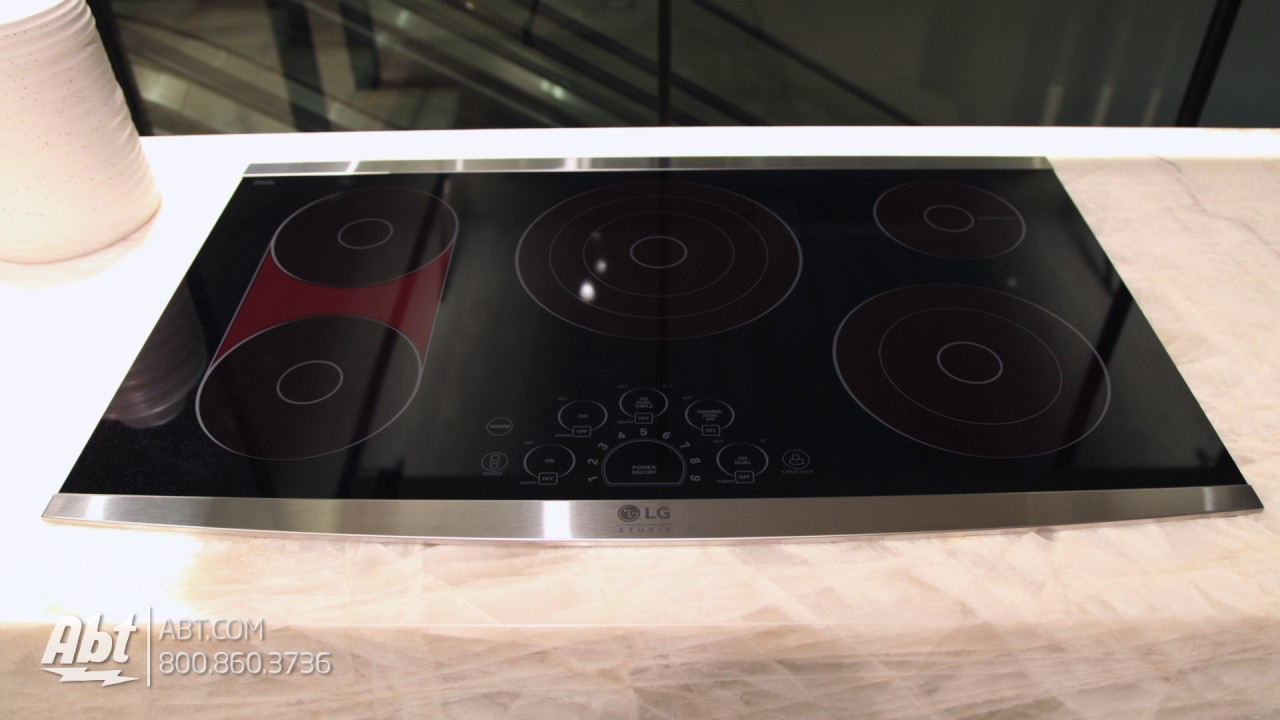 LG 36in Electric Cooktop LSCE365ST Tour - YouTube