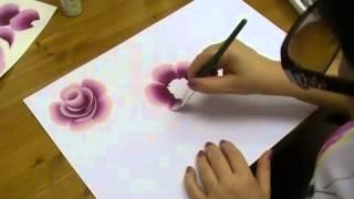 rozsa festese