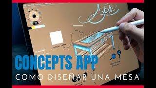 CONCEPTS APP - Sketch en iPad pro