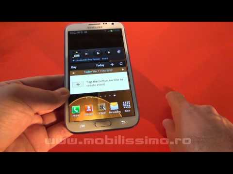 Samsung Galaxy Note II review Full HD in limba romana - Mobilissimo.ro