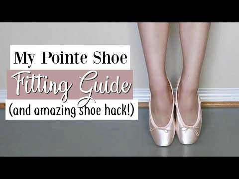 Pointe Shoe Fitting Guide (and an Amazing Shoe Hack!) | Kathryn Morgan