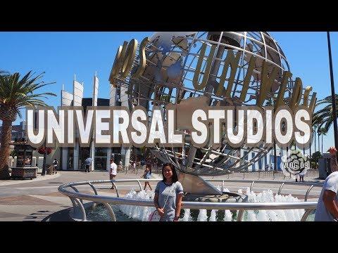 Universal Studios + Studio Tour!   VLOG 09   Chel Pel