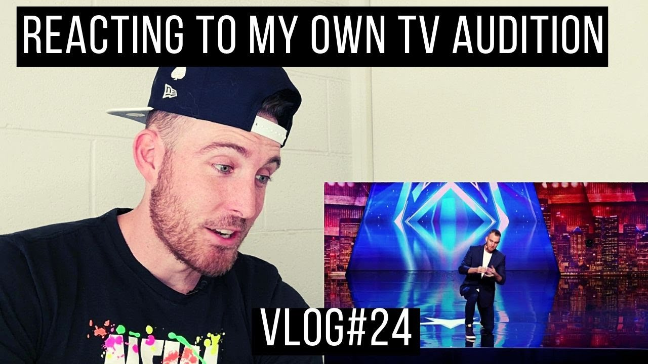 Josh Norbido Magician Reacts To His Own AGT Audition | Norbido Vlogs#24