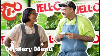 2 Chefs Try T๐ Make A Meal Out Of Jell-O   Mystery Menu With Sohla and Ham   NYT Cooking