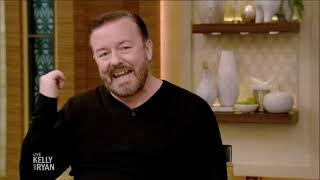 Ricky Gervais Talks About (Not) Staying in Shape